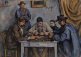 Cezanne, Paul: The Card Players. Fine Art Print/Poster. Sizes: A4/A3/A2/A1 (00169)